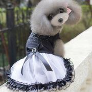 犬服 ペットウェア 春夏新作 レース ドレス 可愛い 猫服 ペット雑貨 ドッグウェア