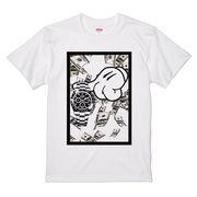 Tシャツ MIKXXX HANDS  ROLEXXXメンズ レディース サーフプリントTシャツ メンズTシャツ