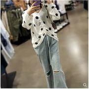 【大きいサイズXL-4XL】ファッション/人気トップス♪ホワイト/ブラック2色展開◆