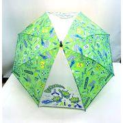 【雨傘】【ジュニア用】55cmエイリアンスペース柄ジャンプ傘