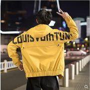 【大きいサイズM-3XL】ファッション/人気ジャケット♪ブラック/イエロー/カーキ3色展開◆