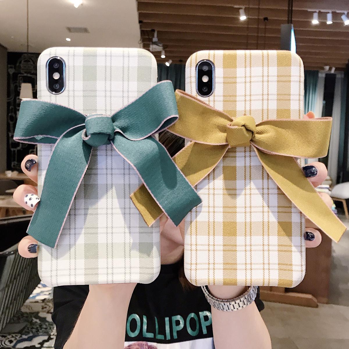 ファブリックリボンケース iPhone ケース スマホケース