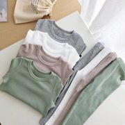 秋冬新作 ルームウェア キッズパジャマ  長袖 韓国子供服 パジャマ 可愛いふわもこ ボア6色