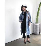 大きいサイズ  韓国ファッション   大口の割引 デニムの上着 XL-4XL 中長