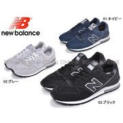 S) 【ニューバランス】 スニーカー CM996 靴 ヌバック 定番 人気 全3色 メンズ