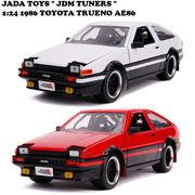 JADATOYS 1:24 JDM TUNERS 1986 TOYOTA TRUENO AE86 ミニカー【2種チョイス】