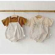 2020春夏新作 セットアップ tシャツ+パンツ 2点セット ハット付き 子供服 キッズ 韓国ファッション