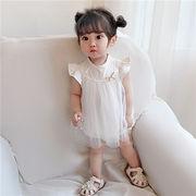 ベビー Tシャツ チュール ワンピース 連体衣 可愛い 涼しい キッズ 韓国子供服 ファッション 2020新作 SALE