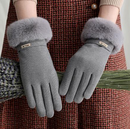 超大人気 手袋 グローブ 冬物 防寒 レディース スマホタッチ対応 裏起毛 ファー