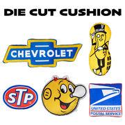 【ビッグシルエット】【アメリカンガレージ】アドバタイジング クッション Die Cut Cushion