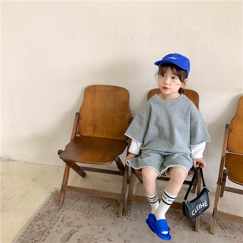 韓国風子供服 韓国ファッション ストリート系 セットアップ ゆったり