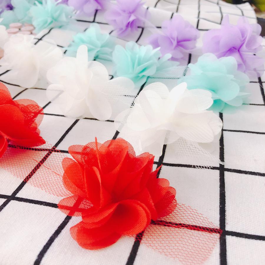 リボン レース 手芸 花 立体感 ブレード シフォン パーツ 衣装 チュチュレース アクセサリーパーツ 手作り